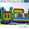 Commercial Grade Inflatable Jumping House With Slide For Kids Rental