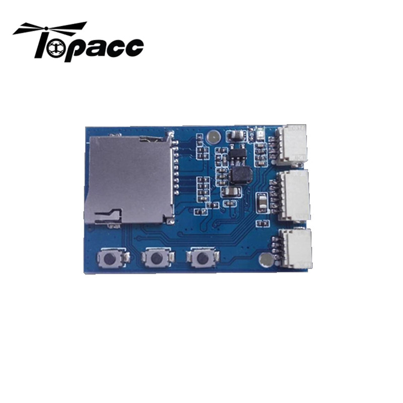 2017 New Arrival DIY Micro DVR VCR Module Mini Video Recorder Support Record Photo Playback SD Card For FPV Camera Monitor Parts lson diy sd card module light blue