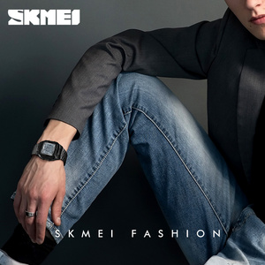 Image 4 - SKMEI יוקרה מותג ספורט שעונים גברים של שעון 5 מעורר ספירה לאחור אלקטרוני דיגיטלי שעון יד אופנה חיצוני שעון גברים Relogio