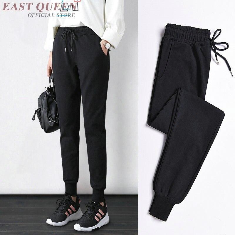 Harem cargo joggers women sweat pants cropped female trousers sweatpants streetwear casual trackpants track pants women KK2071