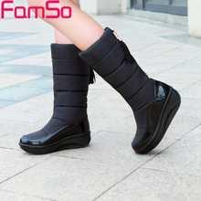 Top Fashion Big Discount Shoes Women Boots 2016 Factory price, Australia Women Keep Warm Down Boots Winter Women's Snow Boots