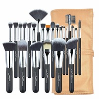 24pcs Set JAF Brand Professional Makeup Brushes Set Kit Powder Foundation Blusher Eye Shadow Eyeliner Lip