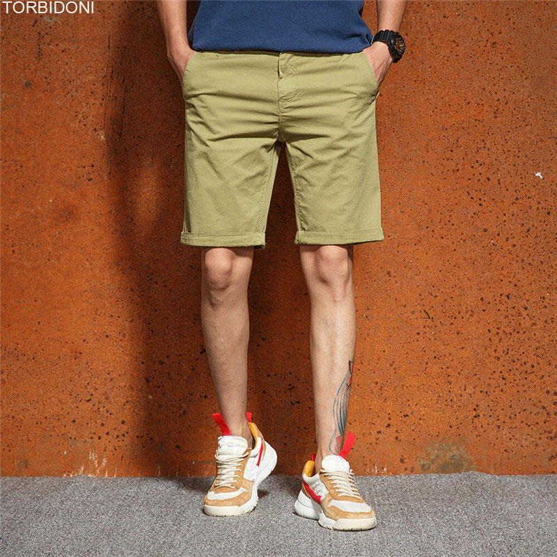 Slim Shorts Homme Men Cotton Fashion Jogger Shorts Trousers New Fitness Shorts Casual Pantalon Corto Hombre Simple Europe Shorts