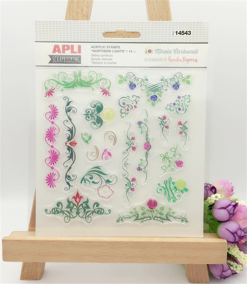 all kind of branch lace scrapbooking diy stamp for wedding gift photo album paper card transparent stamp LL-196 john le carre our kind of traitor