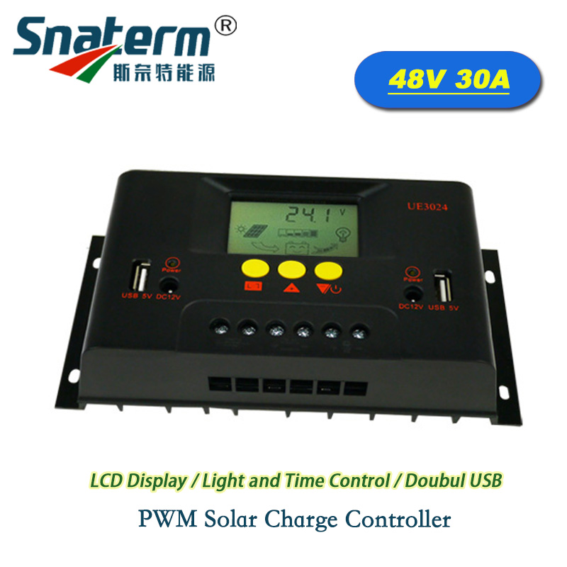 PWM Solar Charge Controller Regulator Lamp Battery Voltage Home Improvement