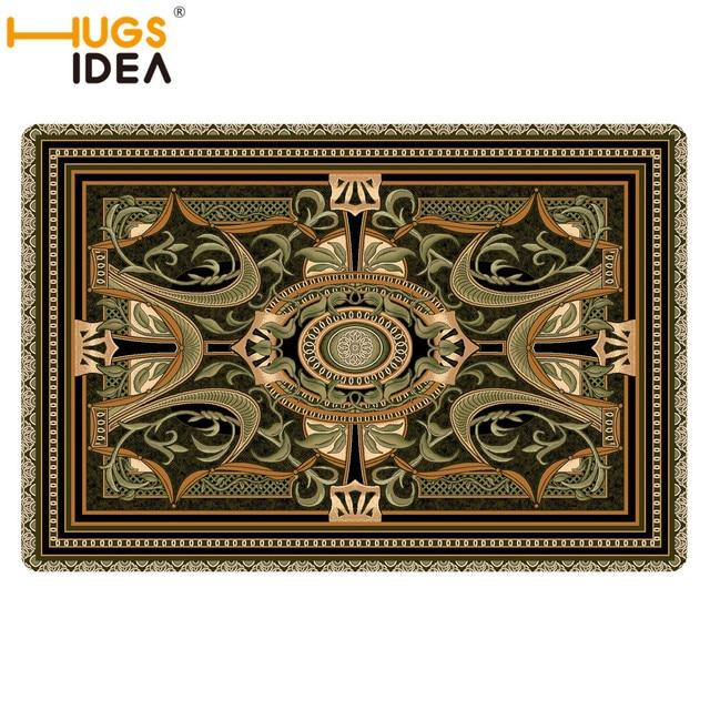 Mode Rétro Gothique Carpet Tapis Tapis Salon 2mm Épaissir grand Rond ...