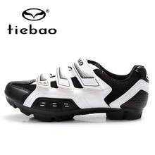 Tiebao Mountain MTB Cycling Bike Shoes Men Breathable Self-Lock Bicycle Athletic Racing Shoes Zapatillas Zapato Ciclismo