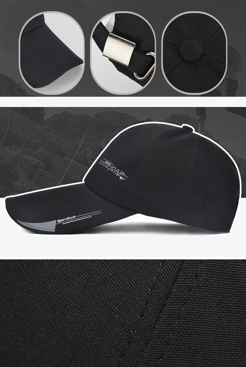 16c1432f2ce 2019 Unisex Sports Cap Mens Womens Casual Cap For Fishing Outdoor Baseball  Cap Long Visor Summer Mesh Dad Hat Sunshade Hat Caps