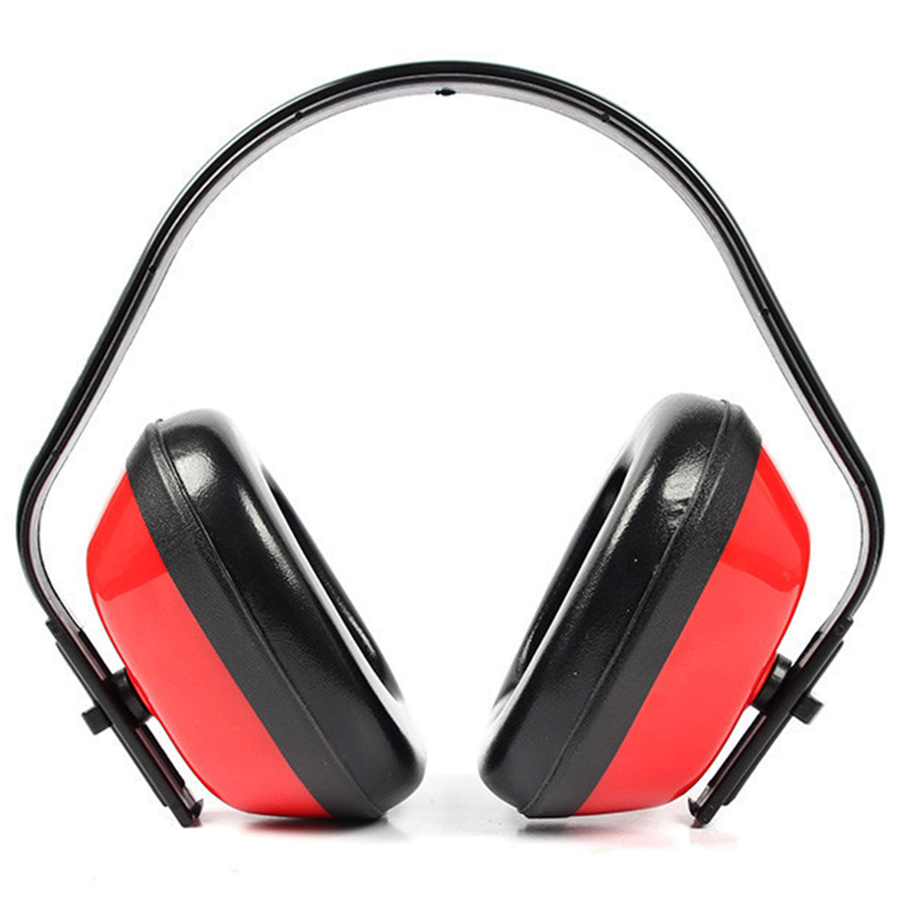 Cooperative Hunting Plastic Soundproof Anti-shock Red Earmuffs Ear Protector Hearing Protection Noise Reduction Safety Supplies Shc-5815 Attractive And Durable