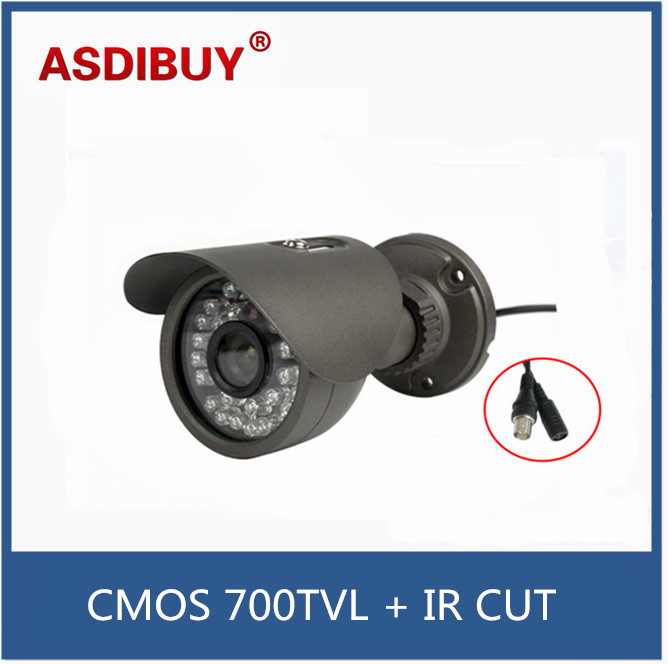 1/3'' CMOS 700TVL CCTV Camera 35pcs IR LED Good Night Vision Home Security Video Surveillance Camera Indoor / Outdoor camera 1 3 sony cmos 1200tvl cctv security camera metal ip66 24 led color ir night vision surveillance home outdoor video camera