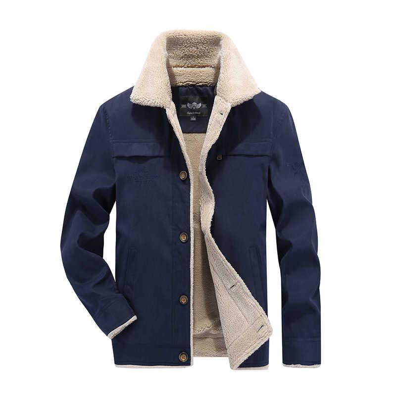 2018 Новый осень-зима куртка-бомбер Военная Униформа куртка Для мужчин  Повседневные куртки Пальто e62bfb16d97