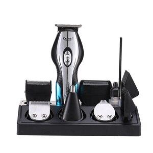 Image 5 - Kemei cortadora de cabello eléctrica profesional 11 en 1 para hombre, cortador de pelo, corte de pelo, afeitadora de nariz, Barba, herramientas de estilismo