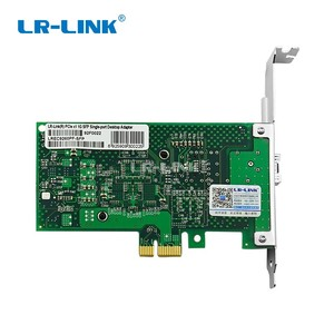 Image 5 - LR LINK 9260PF SFP PCI اكسبريس x1 بطاقة الشبكة المحلية جيجابت إيثرنت الألياف البصرية بطاقة الشبكة سطح المكتب محول PC إنتل 82576