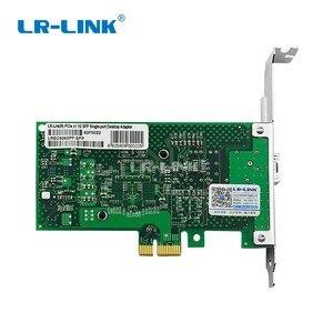 Image 5 - LR LINK 9260PF SFP pci express x1 tarjeta Lan tarjeta de red óptica de fibra adaptador Ethernet Gigabit de escritorio PC Intel 82576