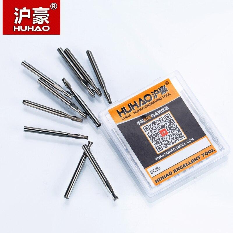 HUHAO 5tk / partii 3,175mm 2 puidu spiraalsihiku puit CNC otsveski - Tööpingid ja tarvikud - Foto 6