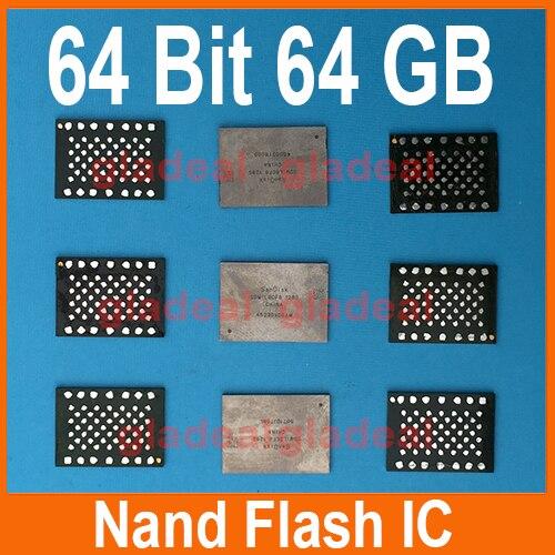 Erikahrnbom купить Dhl бесплатная 2 шт лот 64 бит гб Nand Flash микросхема Hdd для Iphone 6 и плюс увеличение памяти ремонт плата продажа дешево