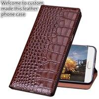 TZ04 genuine leather phone bag for Meizu Pro 7 Plus(5.7') phone case for Meizu Pro 7 Plus flip case free shipping