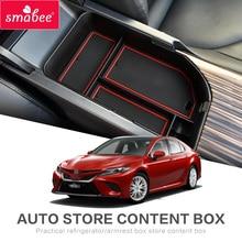 Для Toyota Camry 2018 XV70 подлокотник ящик для хранения аксессуары для интерьера коробка закладочных уборки для Daihatsu Altis автомобильные аксессуары 2019
