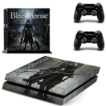 Game Bloodborne PS4 Skin Sticker Decal Vinyl for Sony Playstation 4 Console and 2 Controllers PS4 Skin Sticker