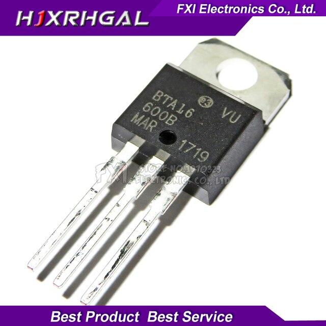 10pcs BTA16-600B BTA16-600 TO-220 TO220 BTA16 600V 16A TRIACS New original