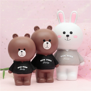 Cartoon Bear Child Girl Adult Creative Cute Selection Gift Bank Money Box Cash Save Money