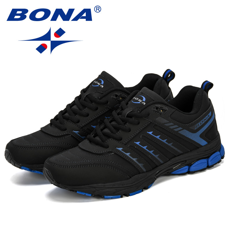 Image 5 - BONA 2019 New Arrival Men Road Running Jogging Walking Sports  Shoes High Quality Lace Up Breathable Male Sneakers ComfortableRunning  Shoes