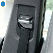 Yimaautotrims Auto Accessory Safety Seat Belt Protect Buckle Cover Trim Fit For Mercedes Benz V Class V260 W447 2015 - 2019 ABS