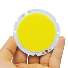 new 1pcs 5pcs 10pcs round COB chip DIY Light Source 100lm/w 76mm 64mm COB led  4200k Nature White chip on board for downlight цена в Москве и Питере