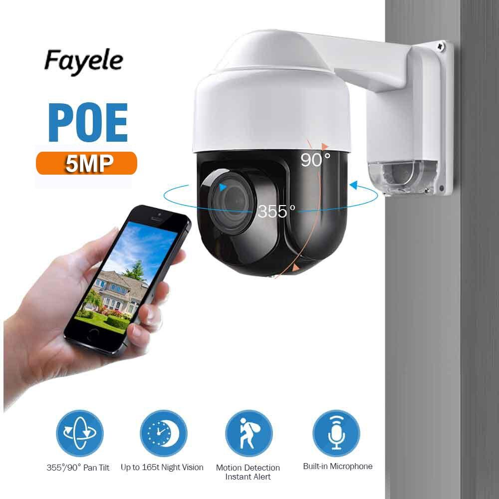 CCTV di Sicurezza Esterna POE 5MP 3