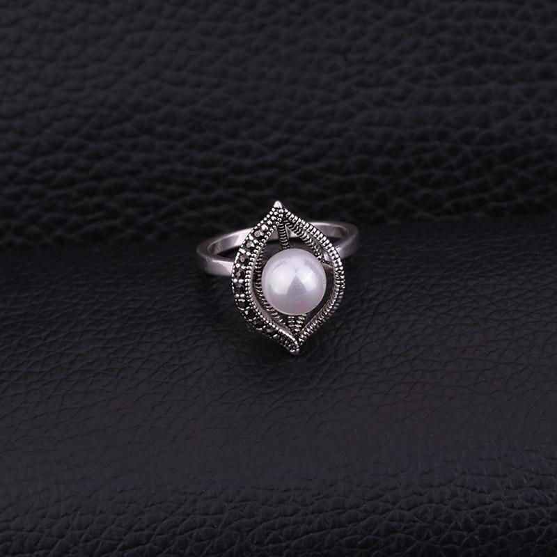 Feelgood conjunto de joyas de perlas de imitación de color plata de - Bisutería - foto 5