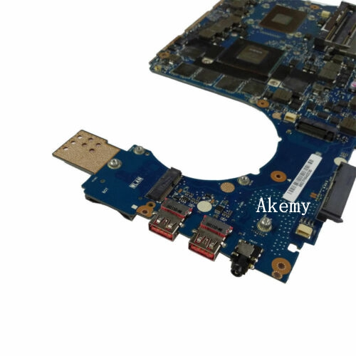 Exchange !!For ASUS GL502VS Laptop Motherboard I7-6700HQ Mainboard  GTX 1070 8GB