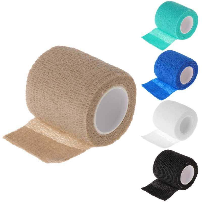 1x Disposable TATTOO Self-adhesive Elastic BANDAGE Grip Wrap เทปกีฬา