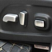 ABS Matte Für Nissan X-trail xtrail T32 Rogue zubehör 2014-2017 Auto Sitz einstellung Schalter Abdeckung Trim auto styling 5 stücke