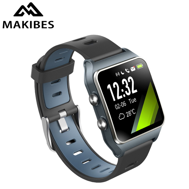 1 Year Warranty Makibes BR3 GPS Multi-sports Smart Watch Strava Waterproof Fitness tracker watches For xiaomi huawei iphone