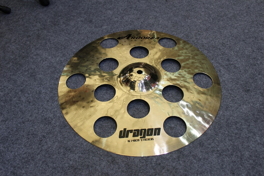 Dragon 16 stacker Cymbal handmade b20 cymbal dragon 16 o zone cymbal