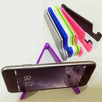 Uniwersalny składany telefon komórkowy w kształcie litery V stojak uchwyt do montażu na Smartphone Tablet