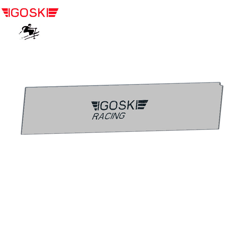 IGOSKI Ski Wax Scraper Removal Of Excess Wax From Skis And Snowboards Tuning Snowboarding Waxing Remover Plexi 320MM*72MM*5MM