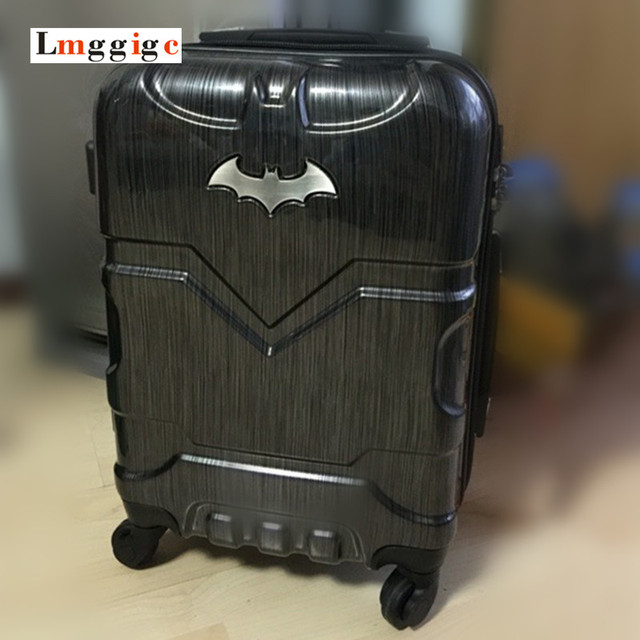 Aliexpress.com : Buy Batman Luggage Carry Ons,Children Suitcase ...