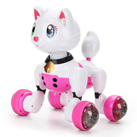 MG022 Voice Control Smart Sensor Voice Control Robot Cat Children's Educational Toys Singing and Dancing Freedom Demo Mode