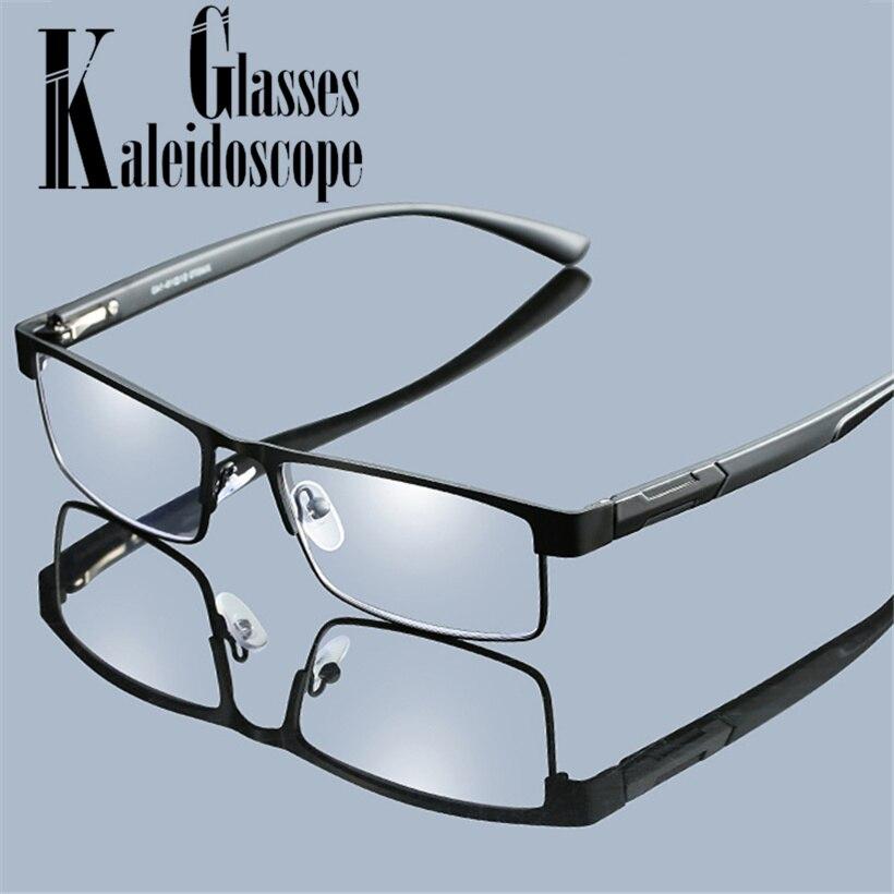 5d8c0619e0 Las mujeres de aleación de gafas de lectura hombres rectángulo de ...
