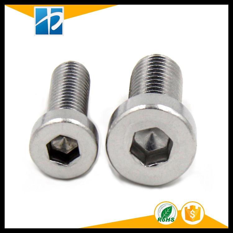 (10 pc/lot) M5,M6,M8 *L sus304 stainless steel hex socket thin head cap model auto diy screw,DIN7984 настенный бордюр tubadzyn l steel 6 1 5x59 8
