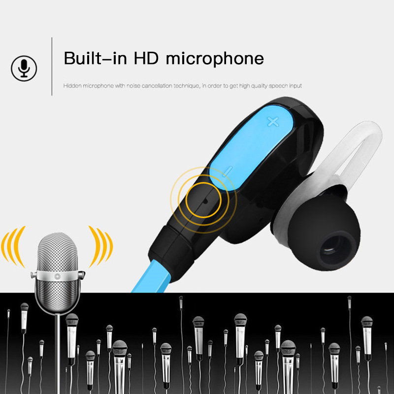 Good Sound Quality APT-X Bluetooth 4.1 Earphone Sweat Proof Headset Sport Stereo Wireless Headphones For iPhone Android 2