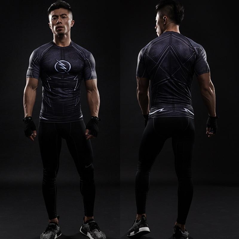 MHot sales stretch Men Black Panther T shirt men's o-neck short-sleeve T shirts Casual Slim Tshirts Men Tops Tees M-3XL