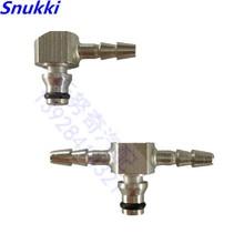 Т Тип рельсовый инжектор возвратный масляный обратный трубный соединитель металлический тройник соединитель для Bosch инжектор соединитель металлические фитинги 2 шт