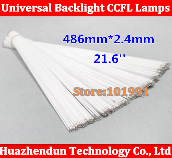 15pcs/lot High Quality NEW 486MM*2.4mm for 21.6 inch wide sreen CCFL LCD Backlight lamp 486 mm 21.6