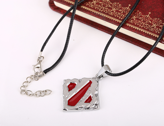 MOSU Hot GAME DOTA 2 Metal Necklace Charm Pendant Cosplay Accessories Jewelry Gift can Drop-shipping