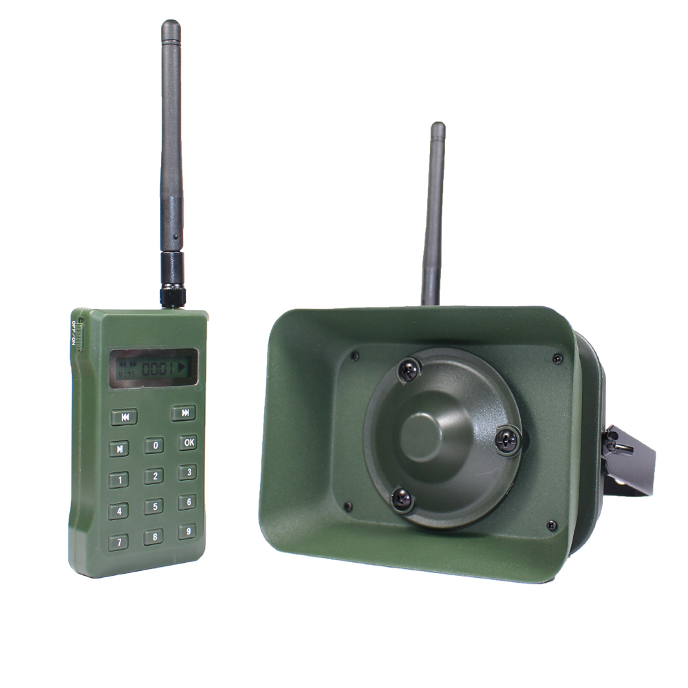 Hunting Bird Caller MP3 Player with Remote Cotrol Bird Sound caller 60W Speaker 160dB Birds Amplifier