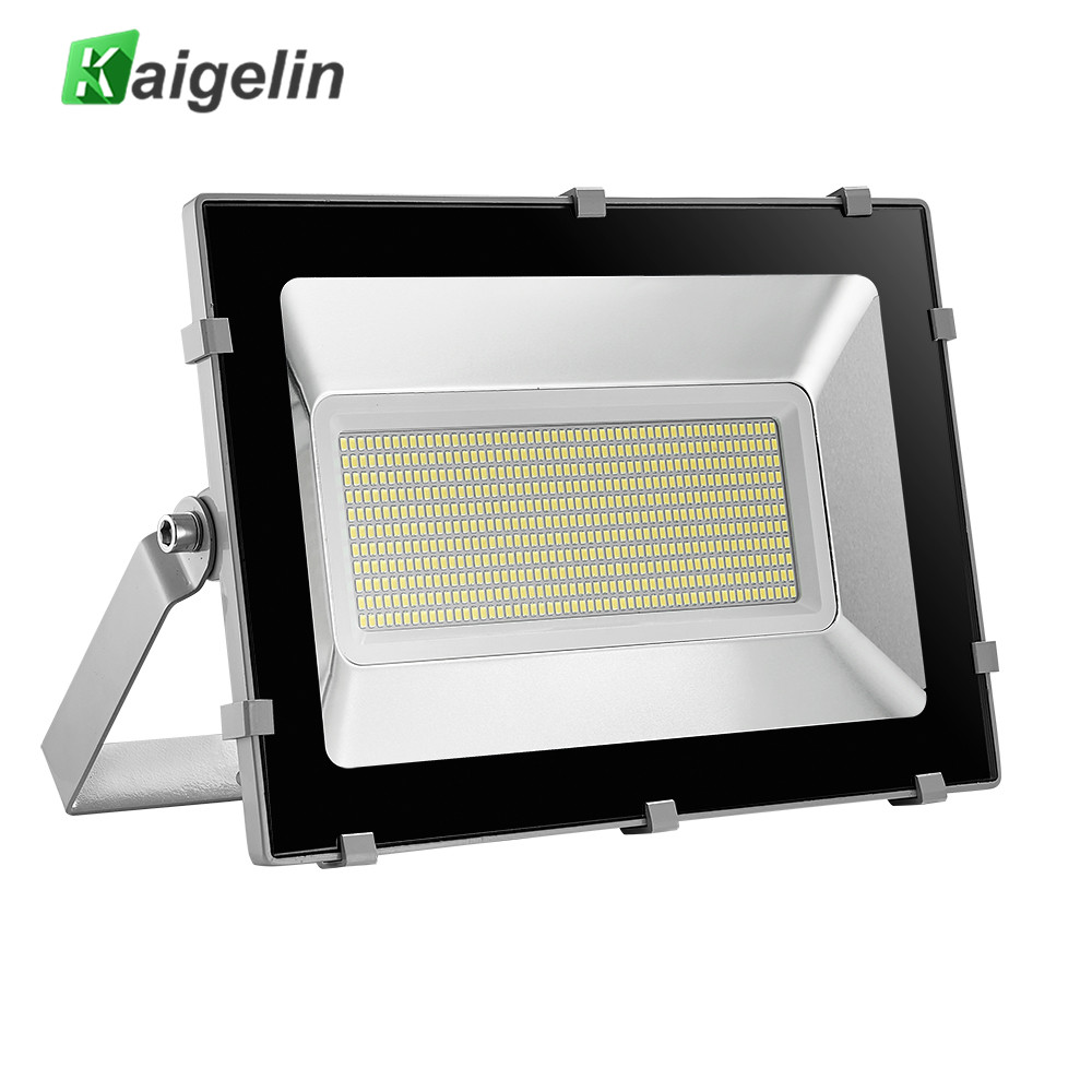 Kaigelin 5th NEW Design 300W LED Flood Light  Waterproof 594 LEDs Floodlight Outdoor LED Spotlight Garden Landscape Projector 30% off 2pcs ultrathin led flood light 50w black ac85 265v waterproof ip66 floodlight spotlight outdoor lighting free shipping