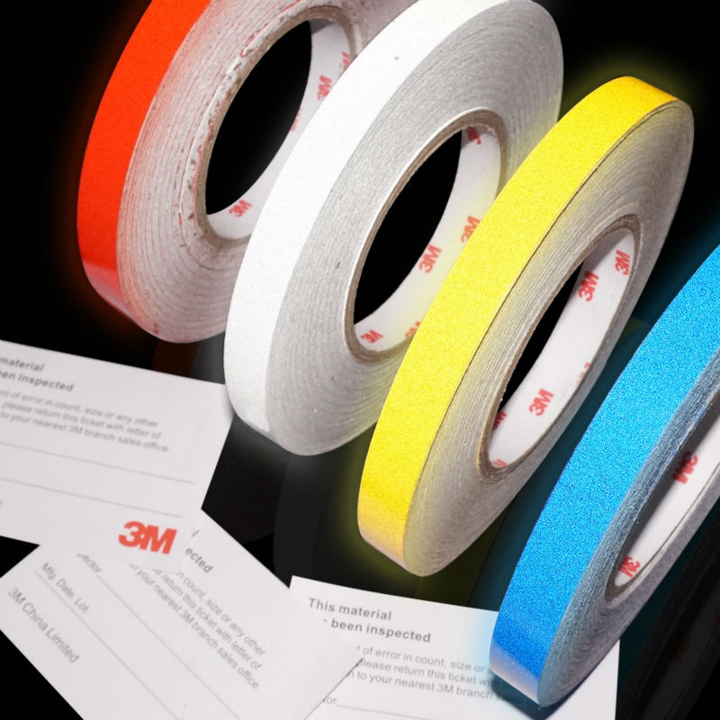 3M self adhesive reflective tape stickers for car warning