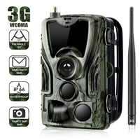 HC801G 3g MMS Trail camera 0,3 S триггер охотничья камера 16MP 1080 P инфракрасная уличная камера наблюдения диких животных камера охотника